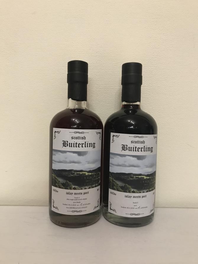 Scottish Buiterling Islay meets Port