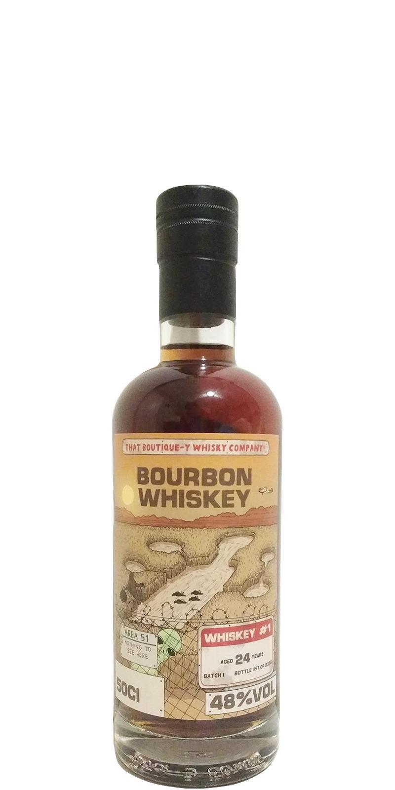 Bourbon Whiskey #1 TBWC