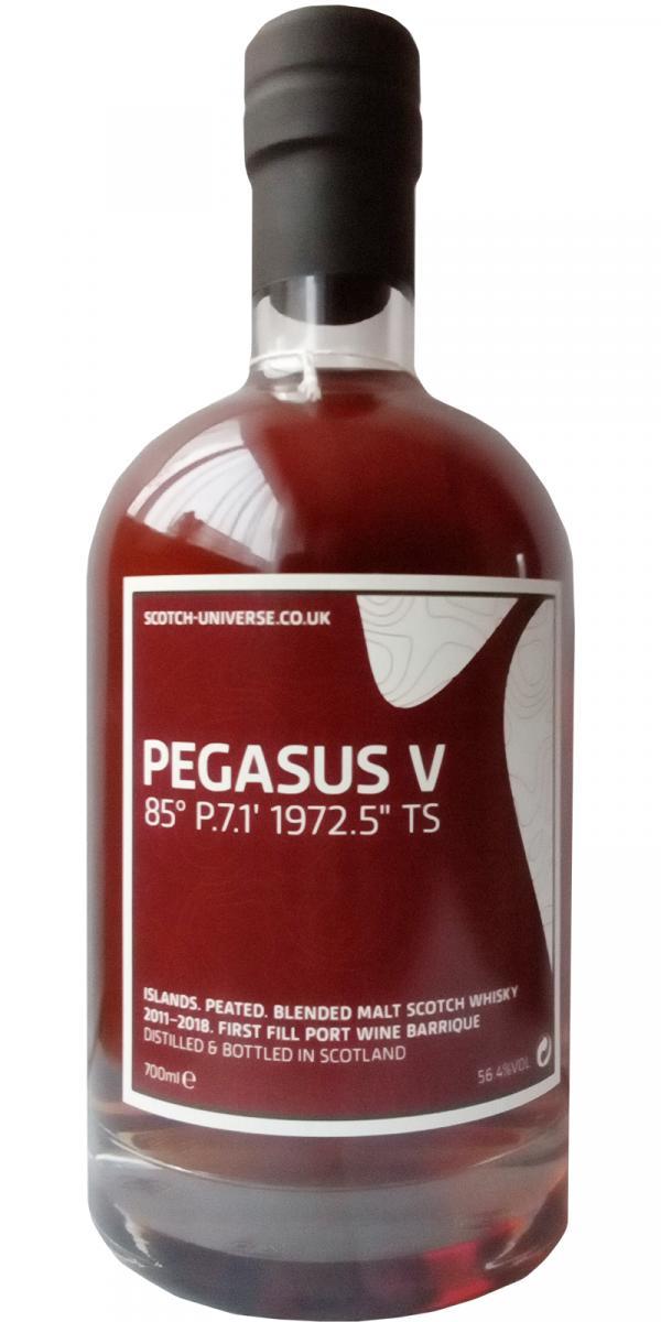 """Scotch Universe Pegasus V - 85° P.7.1' 1972.5"""" TS"""
