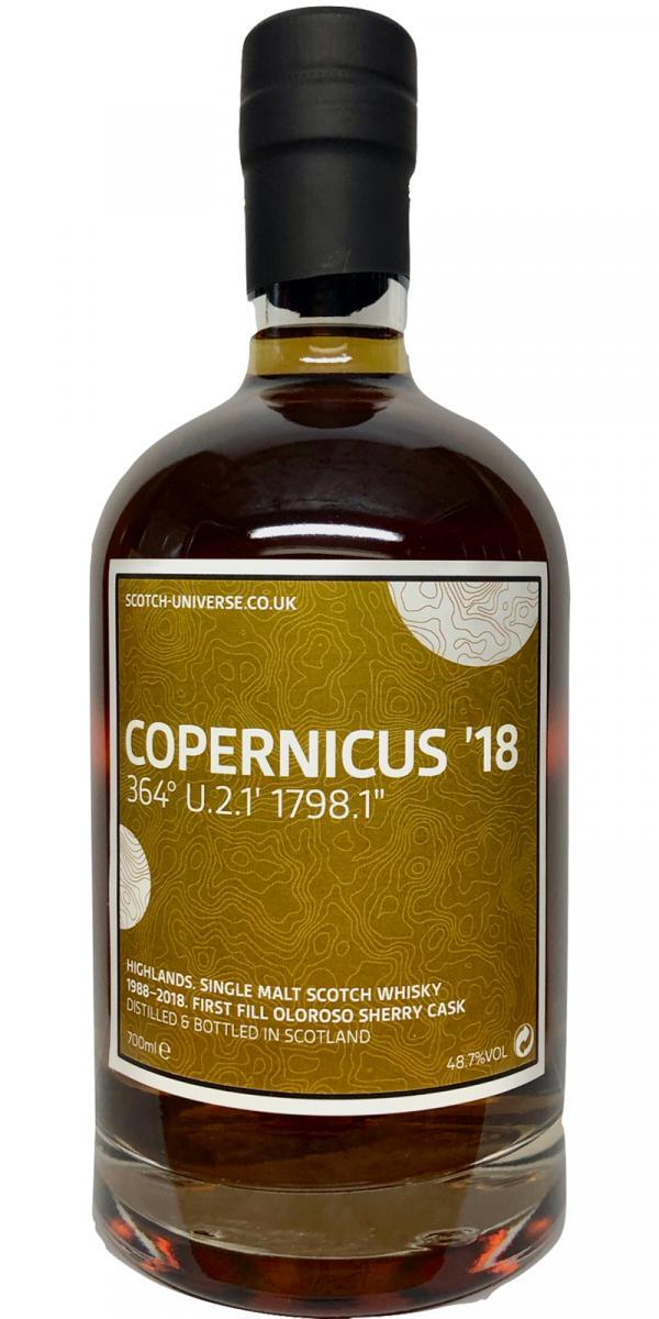 """Scotch Universe Copernicus '18 - 364° U.2.1' 1798.1"""""""