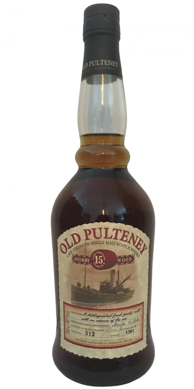 Old Pulteney 15-year-old
