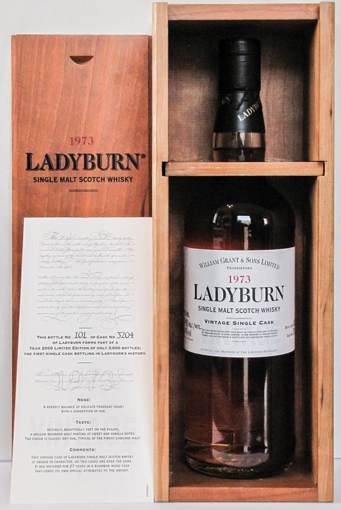 Ladyburn 1973 Cask 3204