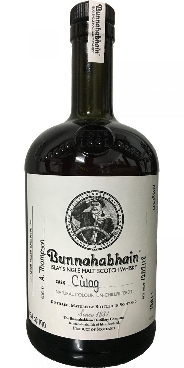 Bunnahabhain Cùlag