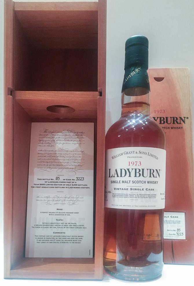 Ladyburn 1973 Cask 3223