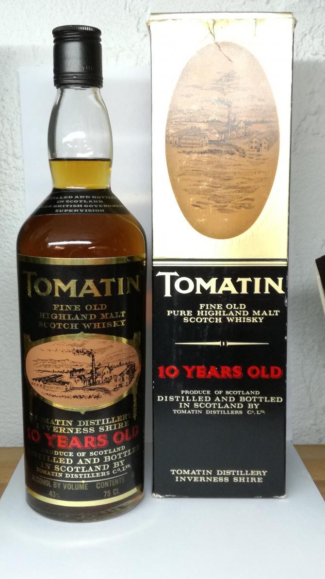 Tomatin 10-year-old