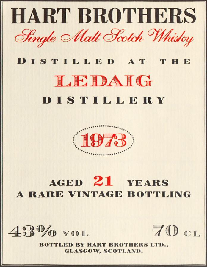 Ledaig 1973 HB