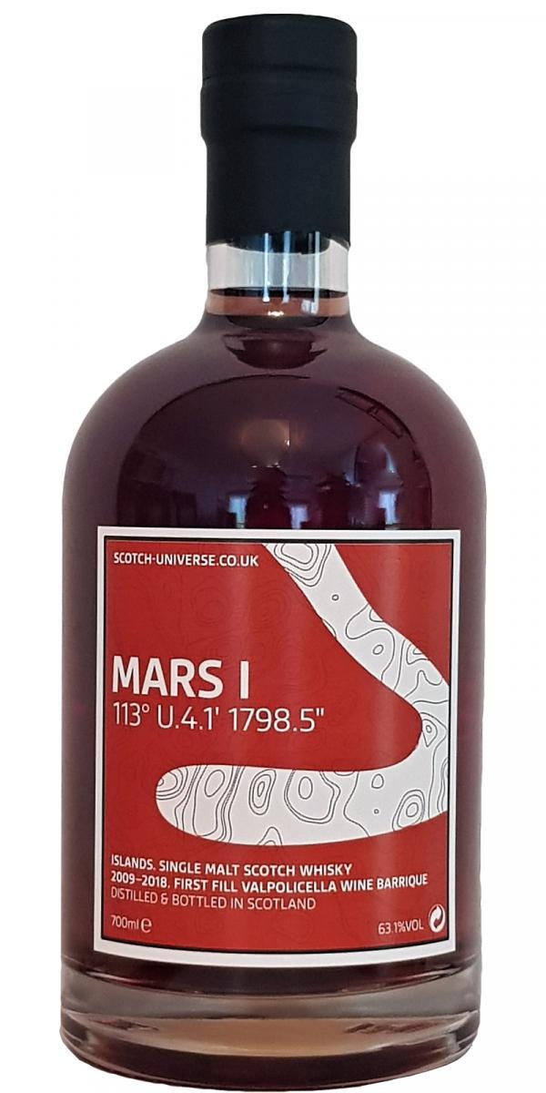 "Scotch Universe Mars I - 113° U.4.1' 1798.5"""