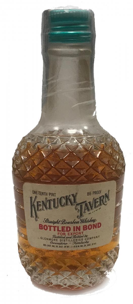 Kentucky Tavern Straight Bourbon Whisky