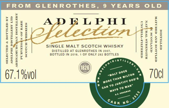 Glenrothes 2007 AD