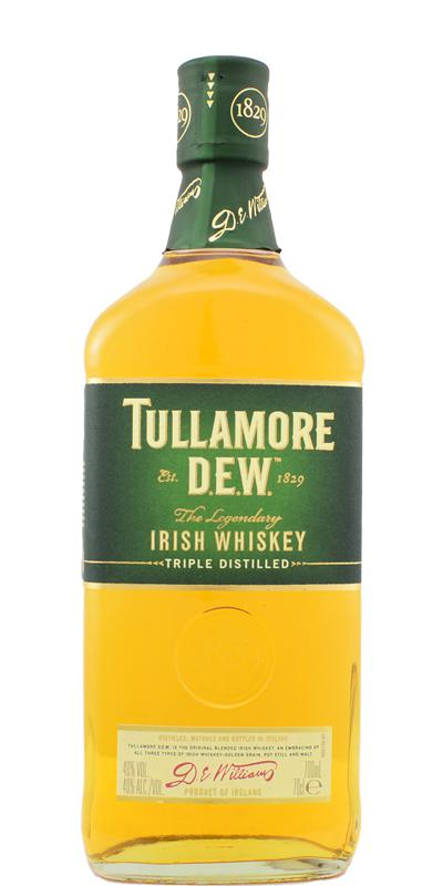 Tullamore Dew The Legendary Irish Whiskey