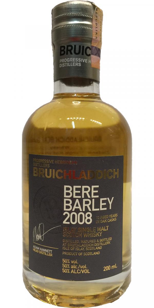 Bruichladdich 2008