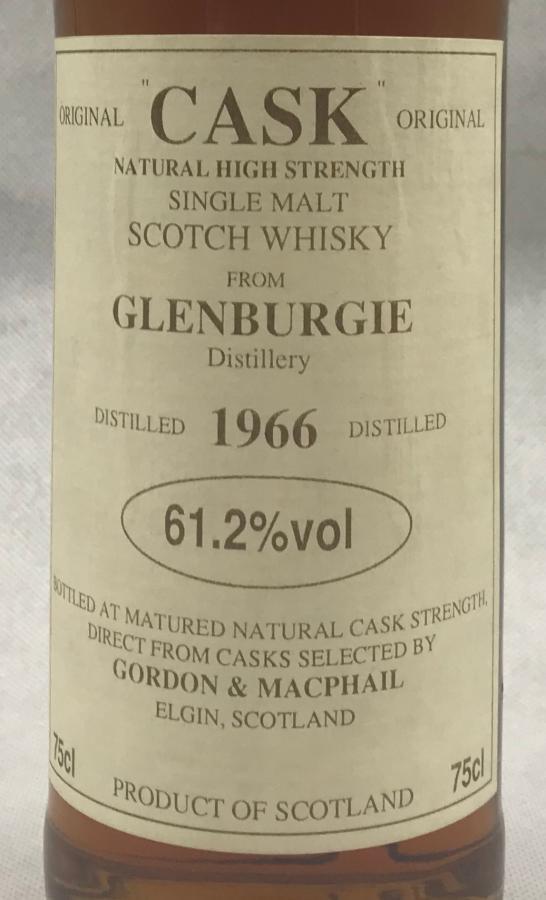 Glenburgie 1966 GM