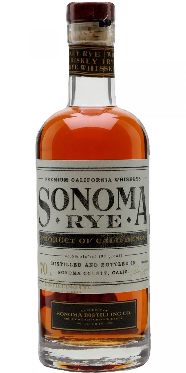 Sonoma County Rye