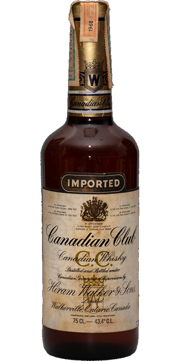 Canadian Club 1968 Imported