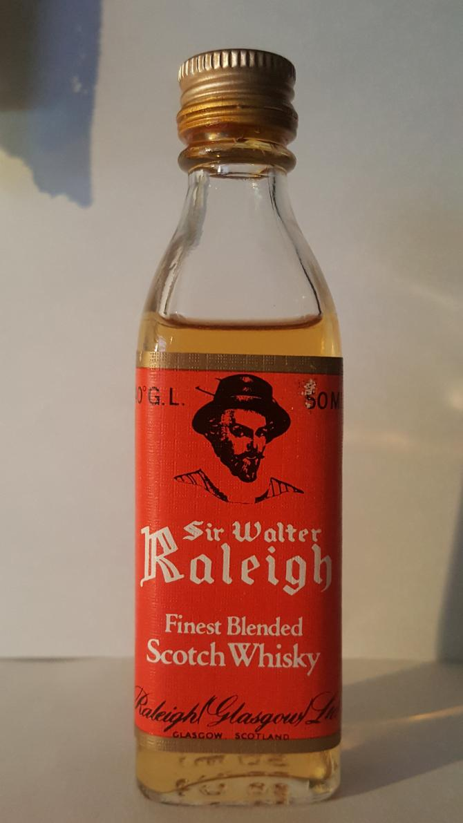 Sir Walter Raleigh Finest Blended Scotch Whisky