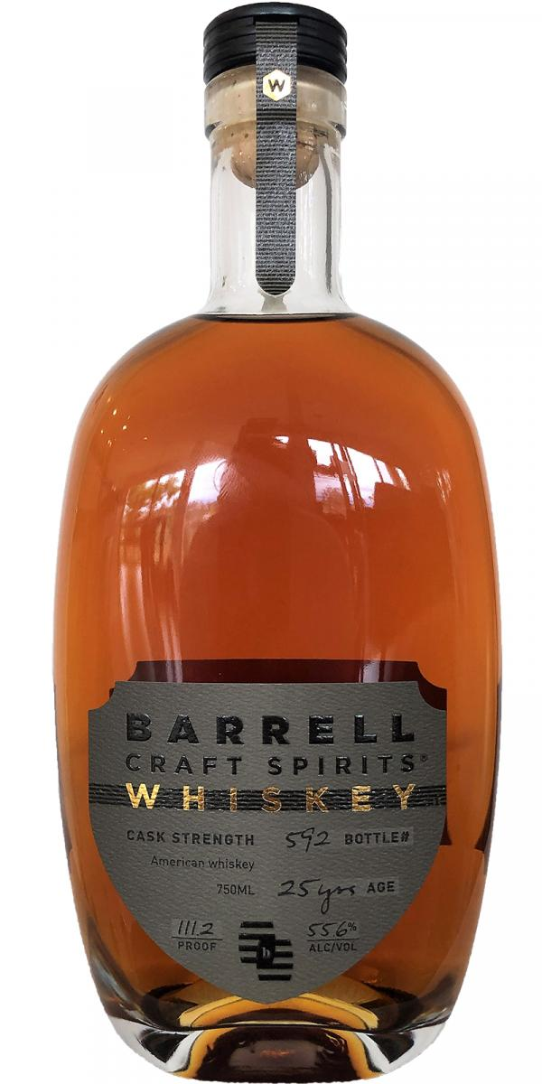 Barrell Whiskey 25-year-old
