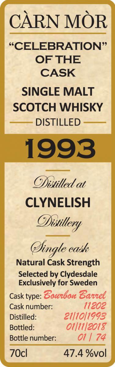 Clynelish 1993 MMcK