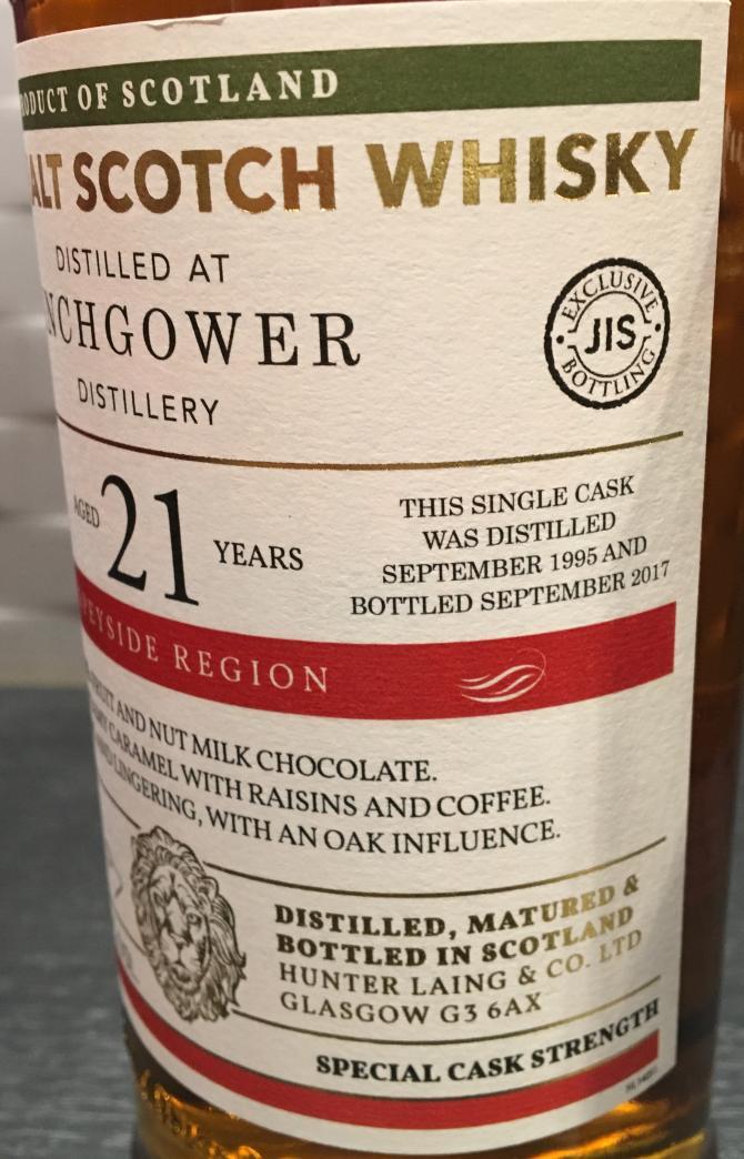 Inchgower 1995 HL