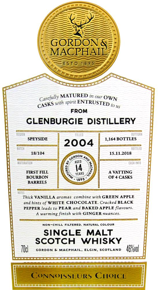 Glenburgie 2004 GM