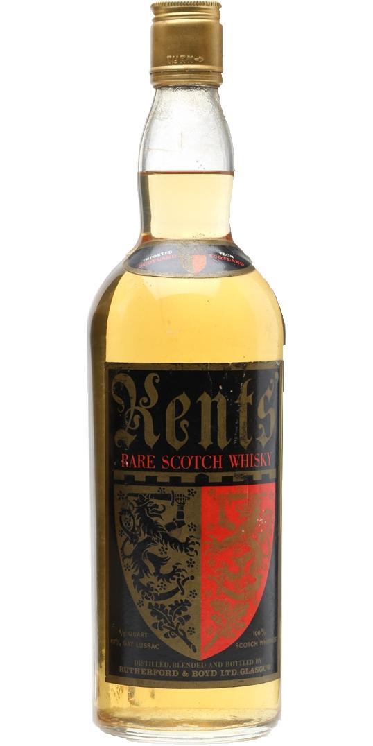 Kents' Rare Scotch Whisky
