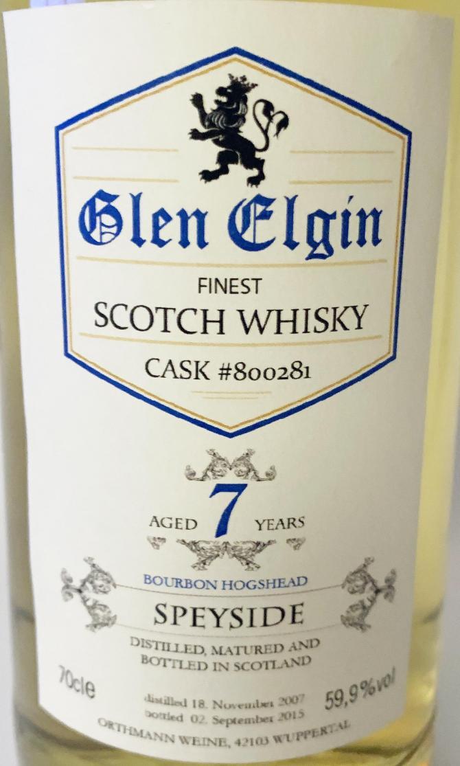 Glen Elgin 2007