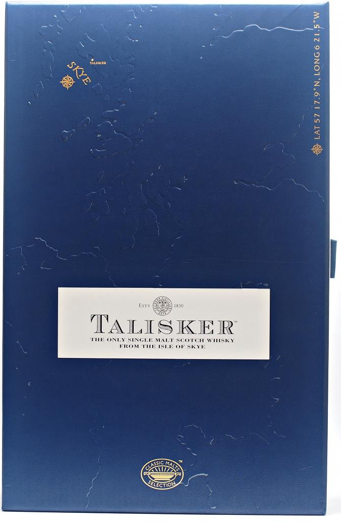 Talisker 10-year-old - Gift Set