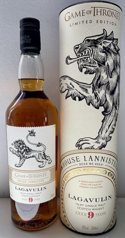 Lagavulin 09-year-old - House Lannister