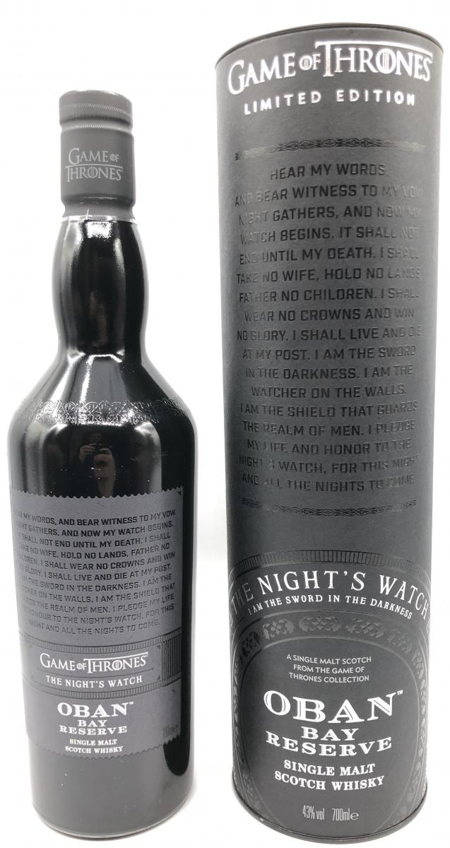 Oban Bay Reserve - The Night's Watch