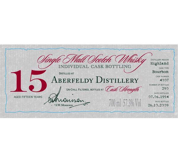 Aberfeldy 1994 DR