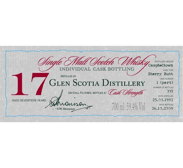 Glen Scotia 1992 DR