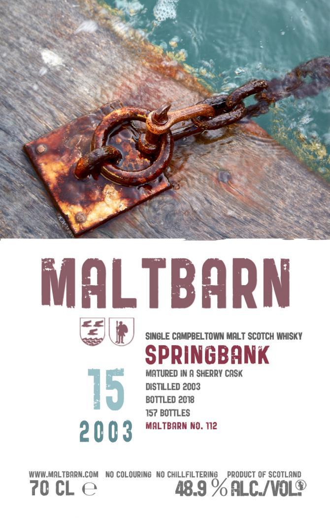 Springbank 2003 MBa