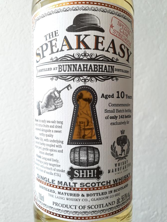 Bunnahabhain 10-year-old DL