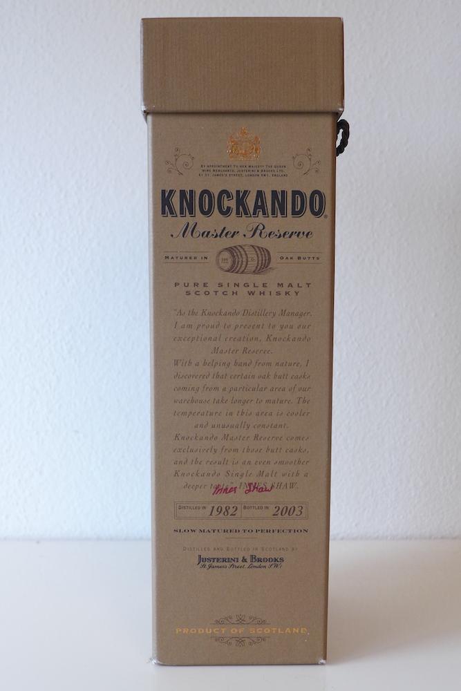 Knockando 1982