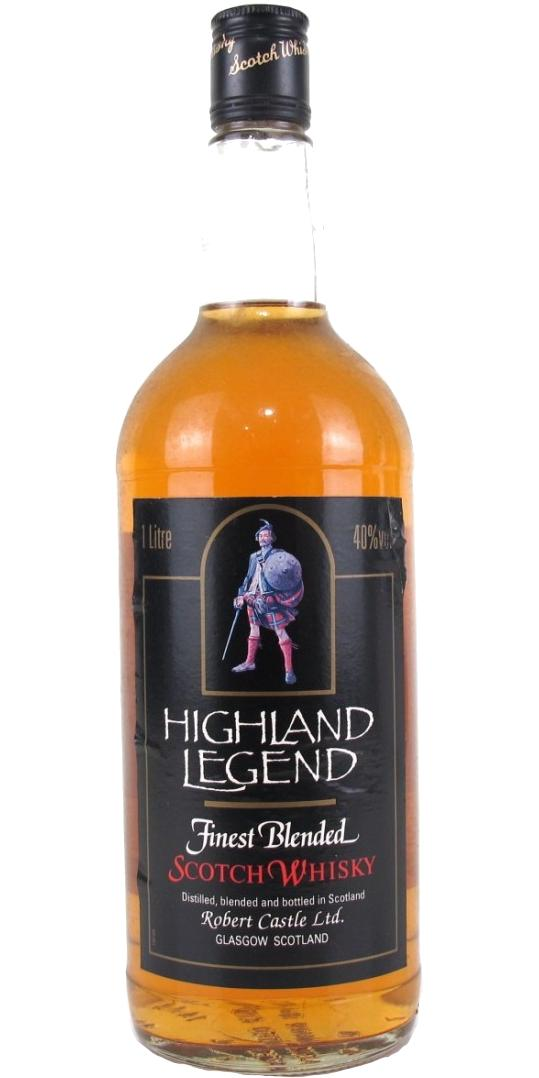 Highland Legend Finest Blended Scotch Whisky