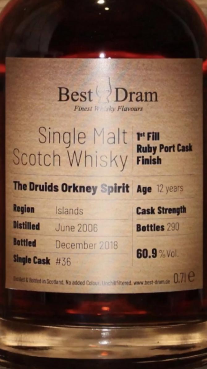 The Druids Orkney Spirit 2006 BD