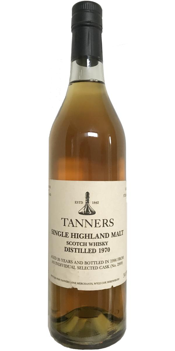 Tanners 1970 Tnrs