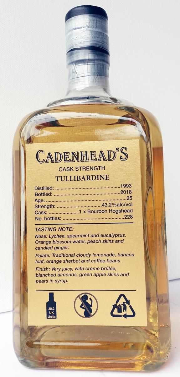 Tullibardine 1993 CA