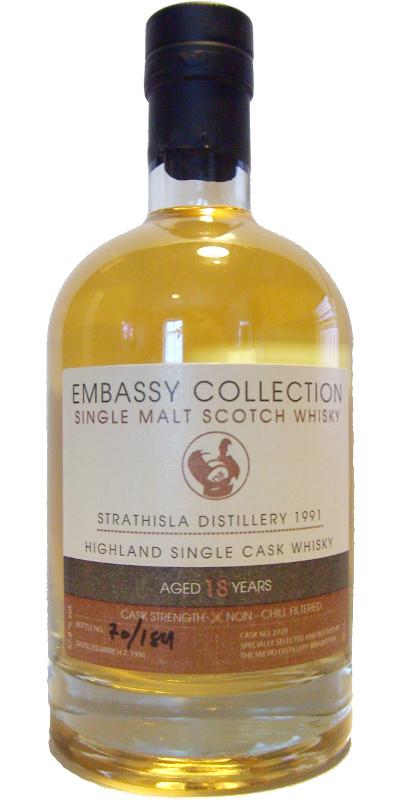 Strathisla 1991 Bs