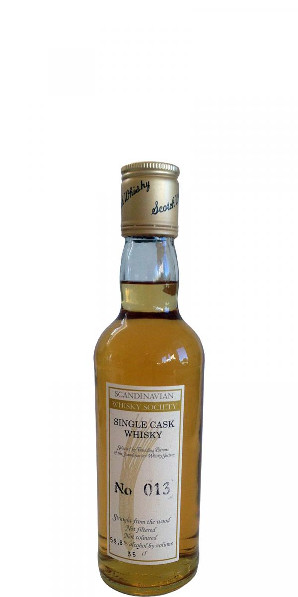 Single Cask Whisky No 013