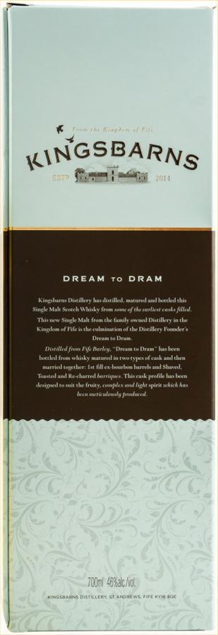 Kingsbarns Dream to Dram