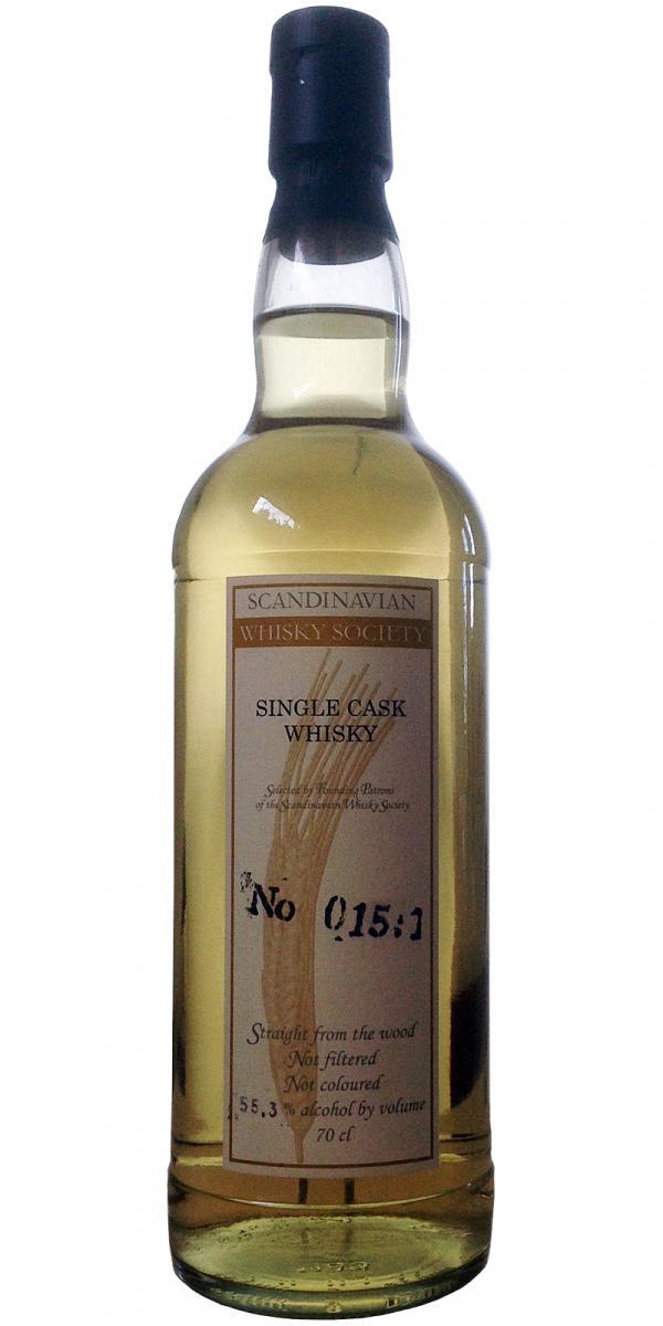 Single Cask Whisky No 015:1