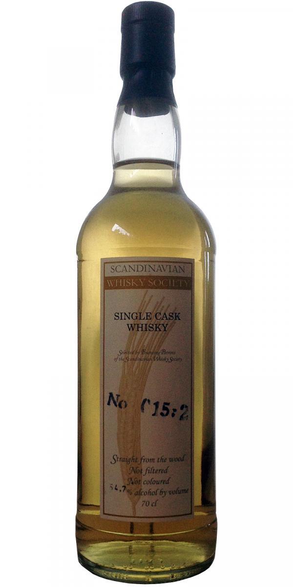 Single Cask Whisky No 015:2