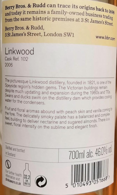 Linkwood 2006 BR