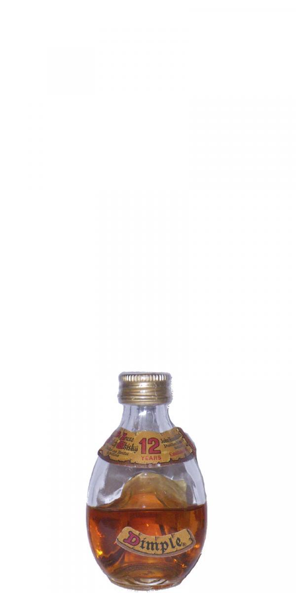 Dimple De Luxe Scotch Whisky