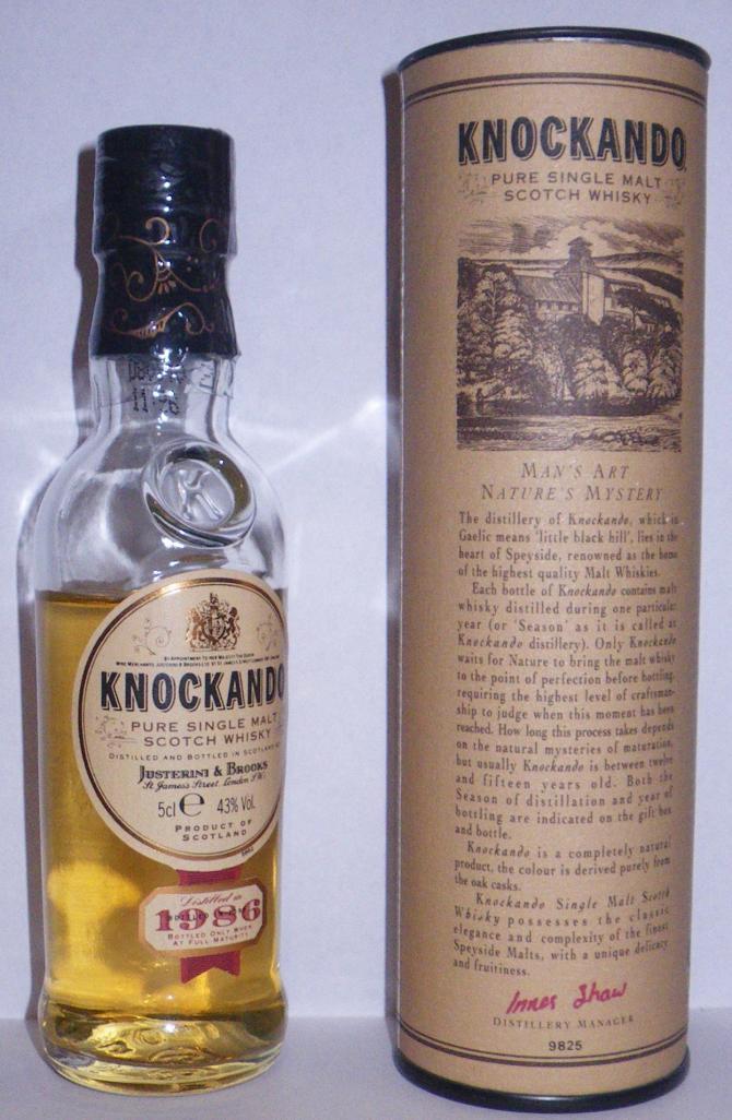 Knockando 1986