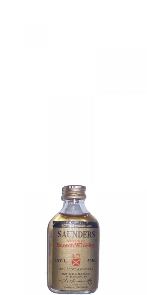 Saunders' Blended Scotch Whisky
