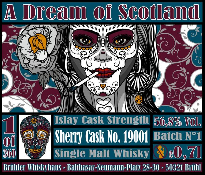 A Dream of Scotland Islay Cask Strength Batch 1