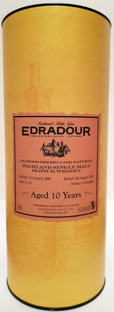 Edradour 2008