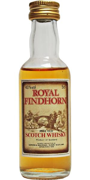Royal Findhorn Fine old Scotch Whisky