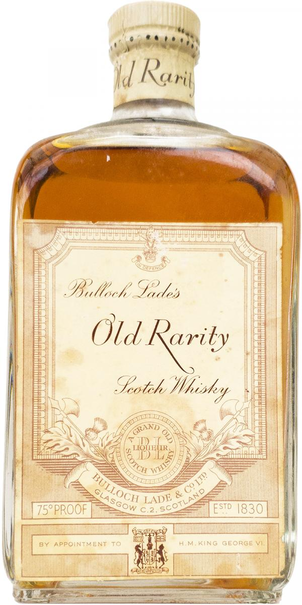 Bulloch Lade's Old Rarity